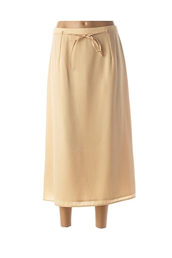 Jupe longue jaune FOSBY pour femme