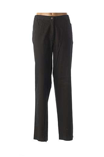 Pantalon casual noir FINNKARELIA pour femme