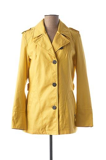 Imperméable/Trench jaune BEAUMONT pour femme