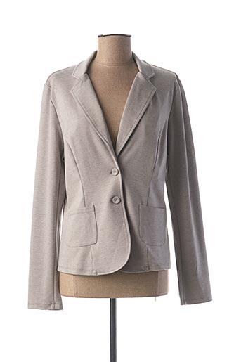Veste chic / Blazer gris GEISHA pour femme