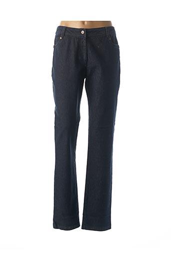 Jeans coupe droite bleu JAC JAC pour femme
