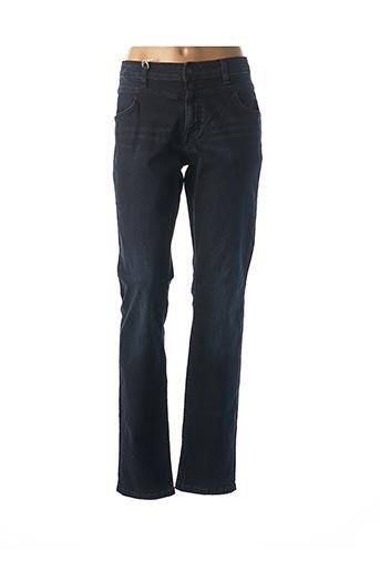 Jeans coupe droite bleu MUSTANG pour femme