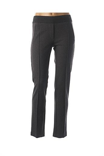 Pantalon 7/8 gris AVENTURES DES TOILES pour femme
