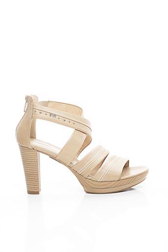Sandales/Nu pieds beige NERO GIARDINI pour femme