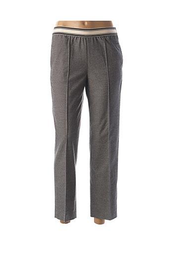 Pantalon 7/8 gris BELLEROSE pour femme