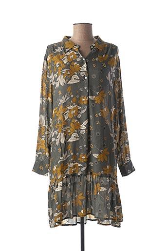 Robe courte vert BELLA JONES pour femme