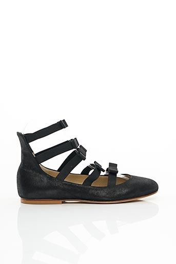 Sandales/Nu pieds noir ANNIEL pour femme