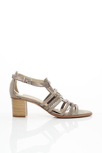 Sandales/Nu pieds beige DORKING pour femme