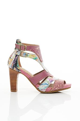 Sandales/Nu pieds violet LAURA VITA pour femme