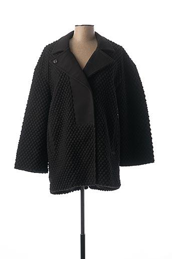 Manteau court noir KAPORAL pour femme