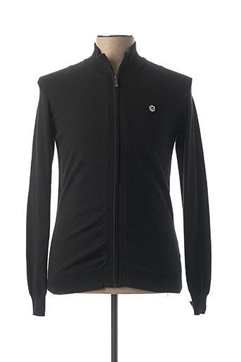 Veste casual noir TEDDY SMITH pour homme