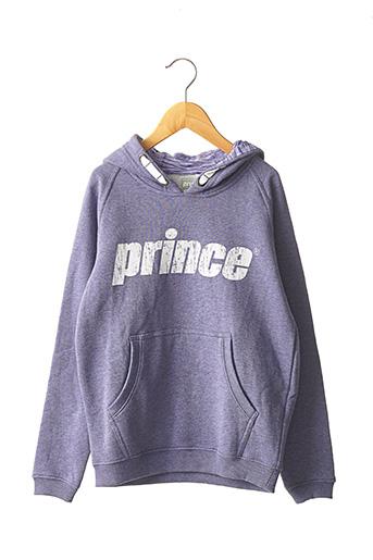 Sweat-shirt violet PRINCE pour enfant