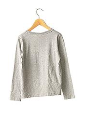 T-shirt manches longues gris NAME IT pour garçon seconde vue