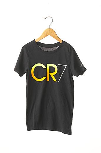 T-shirt manches courtes noir NIKE pour garçon