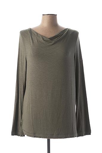 T-shirt manches longues vert REGATTA pour femme