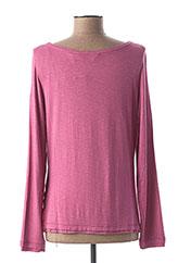 T-shirt manches longues rose REGATTA pour femme seconde vue