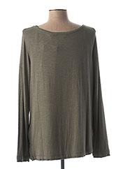 T-shirt manches longues vert REGATTA pour femme seconde vue