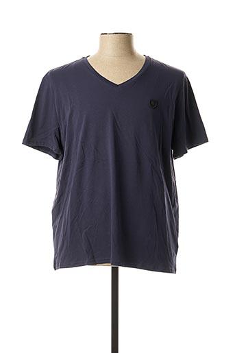 T-shirt manches courtes bleu REDSKINS pour homme