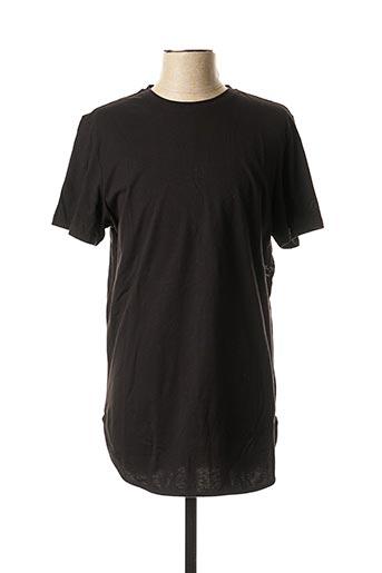 T-shirt manches courtes noir REDSKINS pour homme