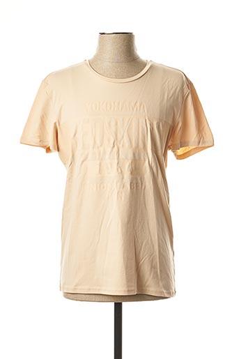 T-shirt manches courtes rose REDSKINS pour homme