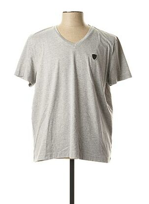 T-shirt manches courtes gris REDSKINS pour homme