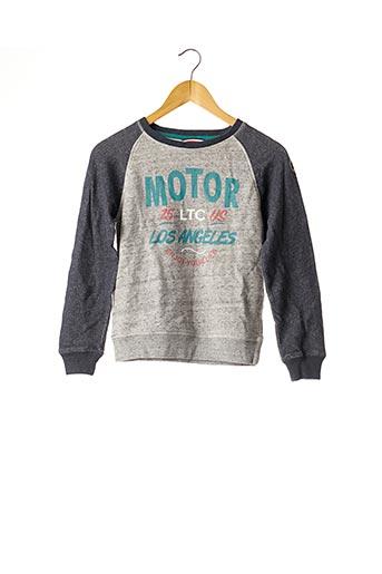 Sweat-shirt gris LE TEMPS DES CERISES pour garçon