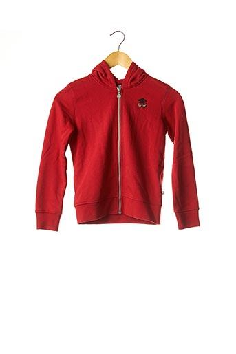 Veste casual rouge LE TEMPS DES CERISES pour fille