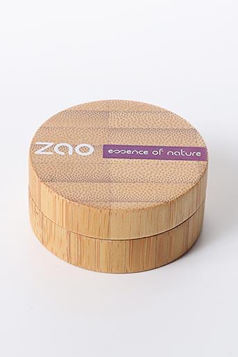 Maquillage bleu ZAO pour femme