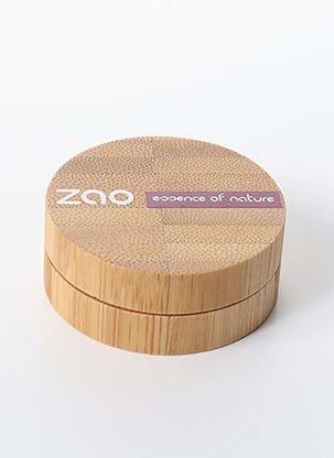 Maquillage marron ZAO pour femme
