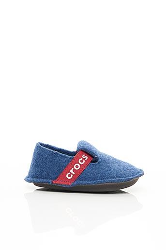 Chaussons/Pantoufles bleu CROCS pour enfant