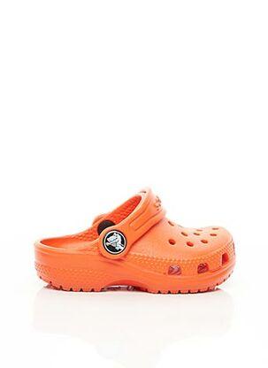 Mules/Sabots orange CROCS pour enfant