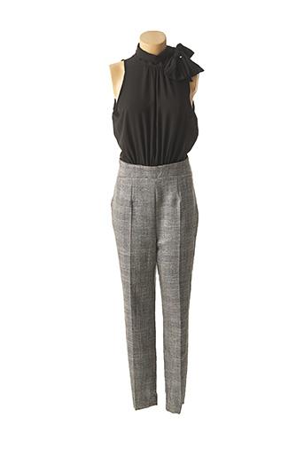 Combi-pantalon gris RINASCIMENTO pour femme