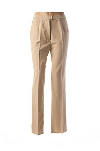 Pantalon chic beige KARTING pour femme