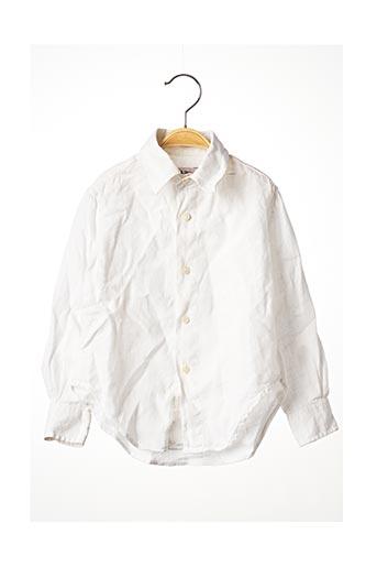 Chemise manches longues blanc JACOBS & JACOBS pour enfant