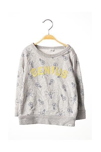 Sweat-shirt gris GAP pour garçon