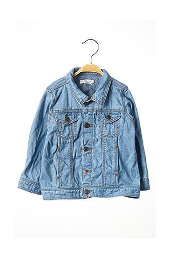 Veste en jean bleu LITTLE CIGOGNE pour garçon