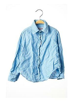 Chemise manches longues bleu JACOBS & JACOBS pour enfant