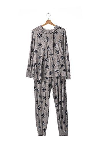 Pyjama gris C&A pour femme
