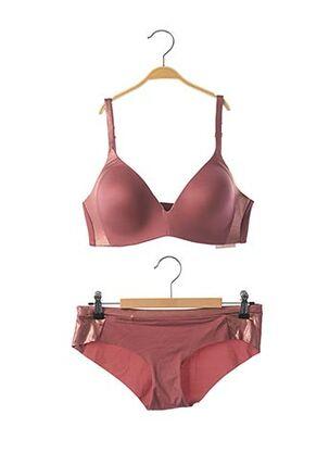 Ensemble lingerie rose TRIUMPH pour femme