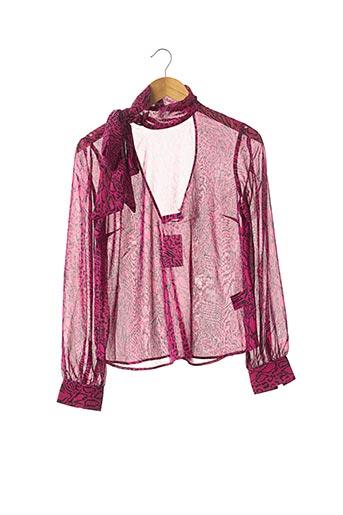 Blouse manches longues rose H&M pour femme