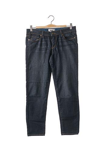 Jeans coupe slim bleu PAIGE pour femme