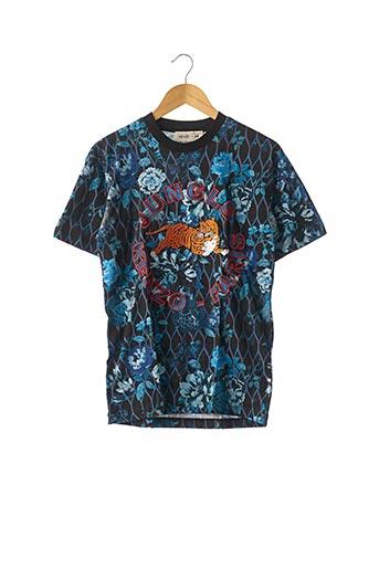 T-shirt manches courtes bleu H&M pour femme