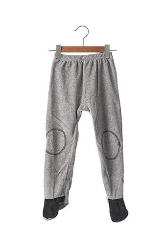 Pyjama gris SANS MARQUE. pour enfant