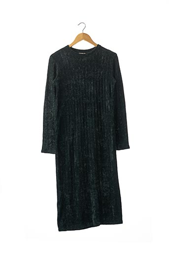 Robe longue vert ZARA pour femme