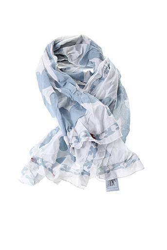 Foulard bleu LACOSTE pour femme