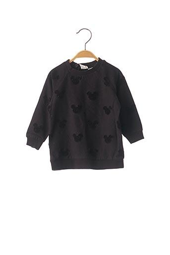 Sweat-shirt noir DISNEY pour fille
