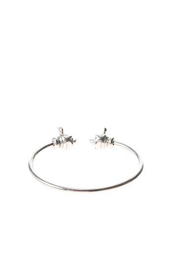 Bracelet Jonc gris PANDORA pour femme