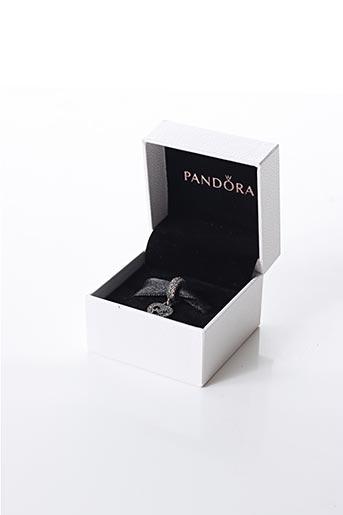 Bracelet gris PANDORA pour femme