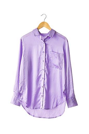 Chemisier manches longues violet NASTY GAL pour femme