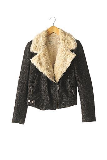 Manteau court noir ZARA pour femme